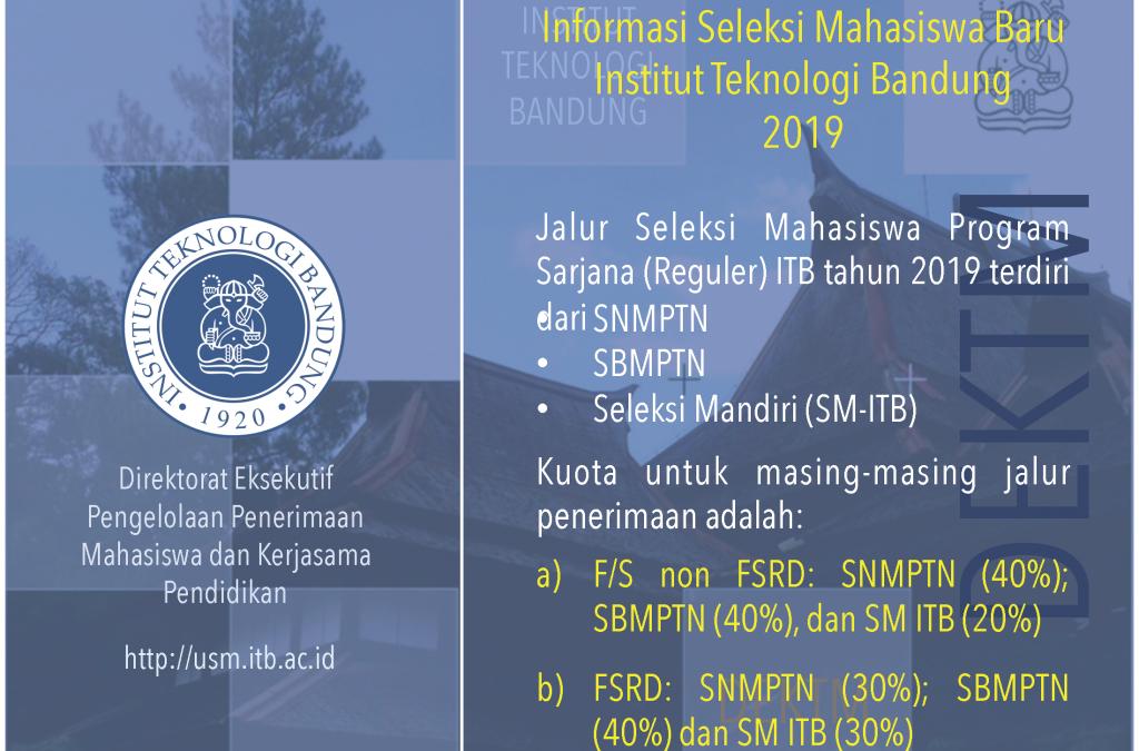 Persyaratan Umum Kelas Internasional ITB