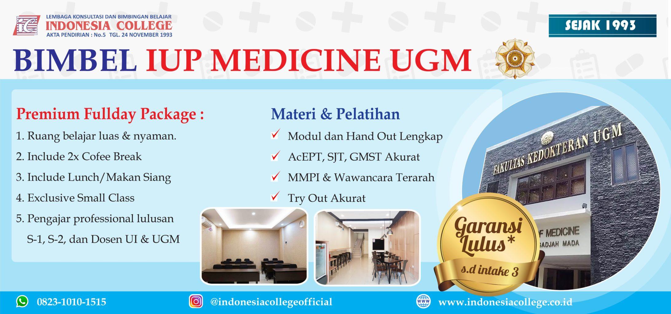 Bimbel IUP Medicine 2022